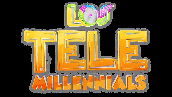 LOGO LOS TELEMILLENNIALS HD 3D TRANSPARE