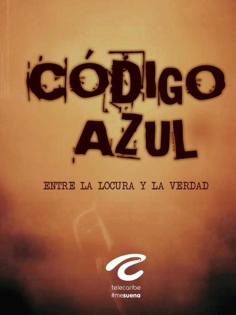 Poster Codigo Azúl