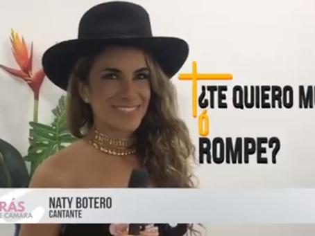 Detrás de Cámaras con Naty Botero