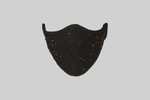 Raindrop neoprene face mask