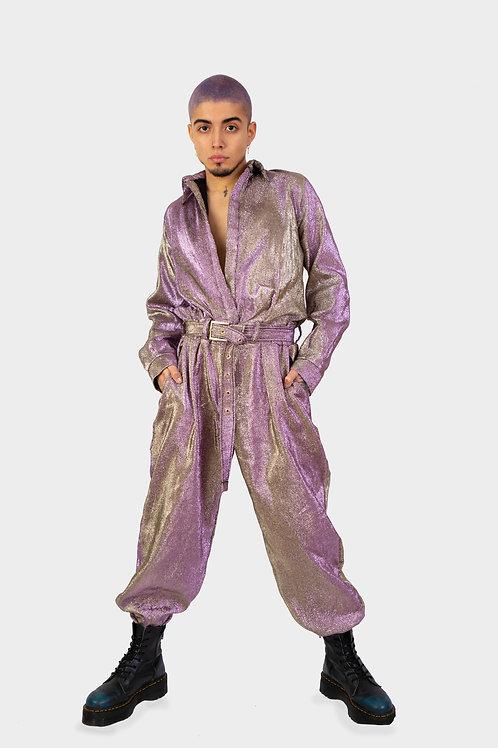 AW19 Metallic jumpsuit