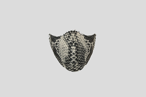 Snakeskin neoprene face mask