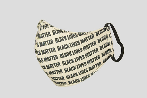 Black Lives Matter charity face mask