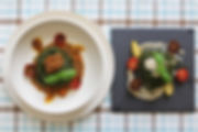 pasta con spirulina al ragù di carne e al tartufo