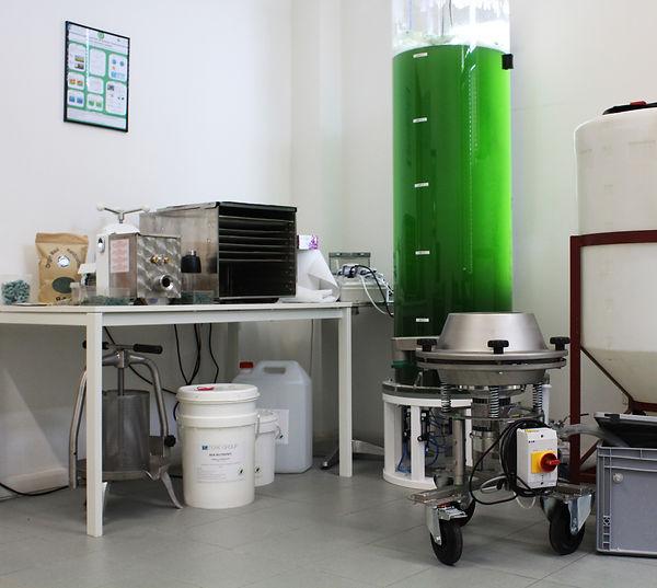 kit for photobioreactors for spirulina and chlorella
