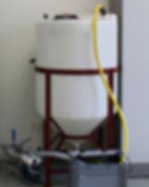 Réservoir de coffre conique 330LT