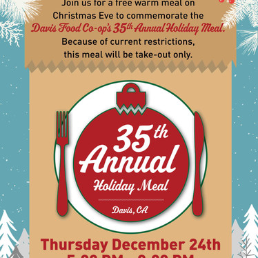 35th Holiday Meal