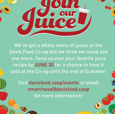 Join our Juice