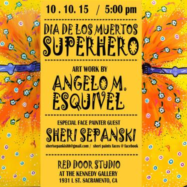 Dia de los Muertos Superhero