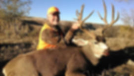 Mule Deer harvestd on one of our private ranches