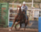Payson at the junior rodeo