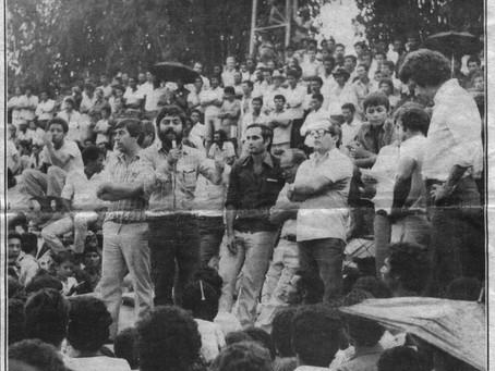 Guariba: A greve dos cortadores de cana – 1984
