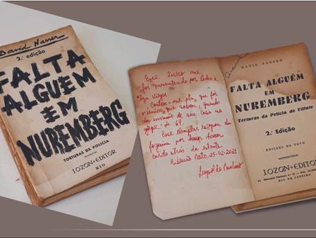 """Dica de Livro:  """"Falta alguém em Nuremberg"""", David Nasser"""