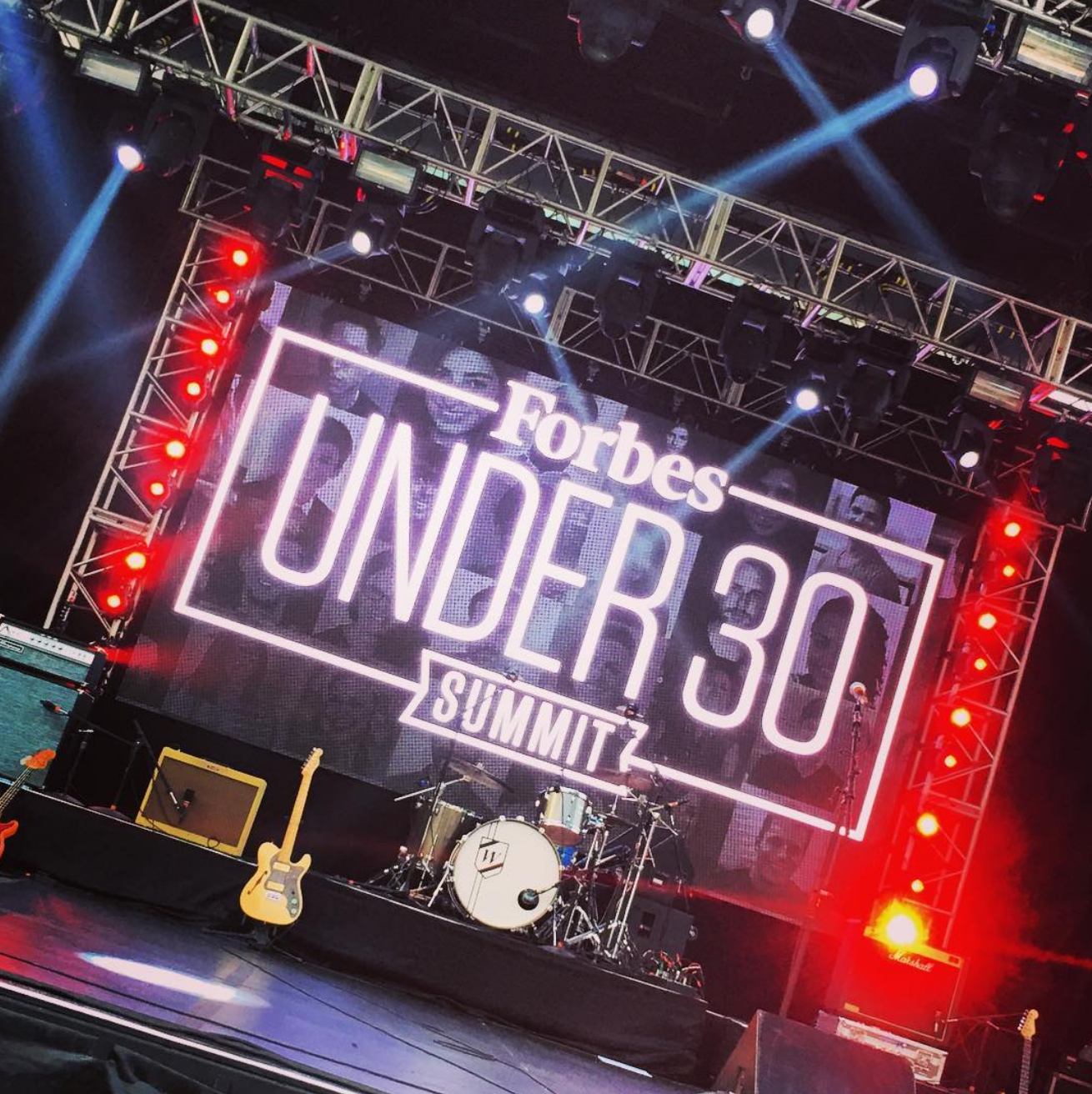 Forbes 30 Under 30 Main Stage