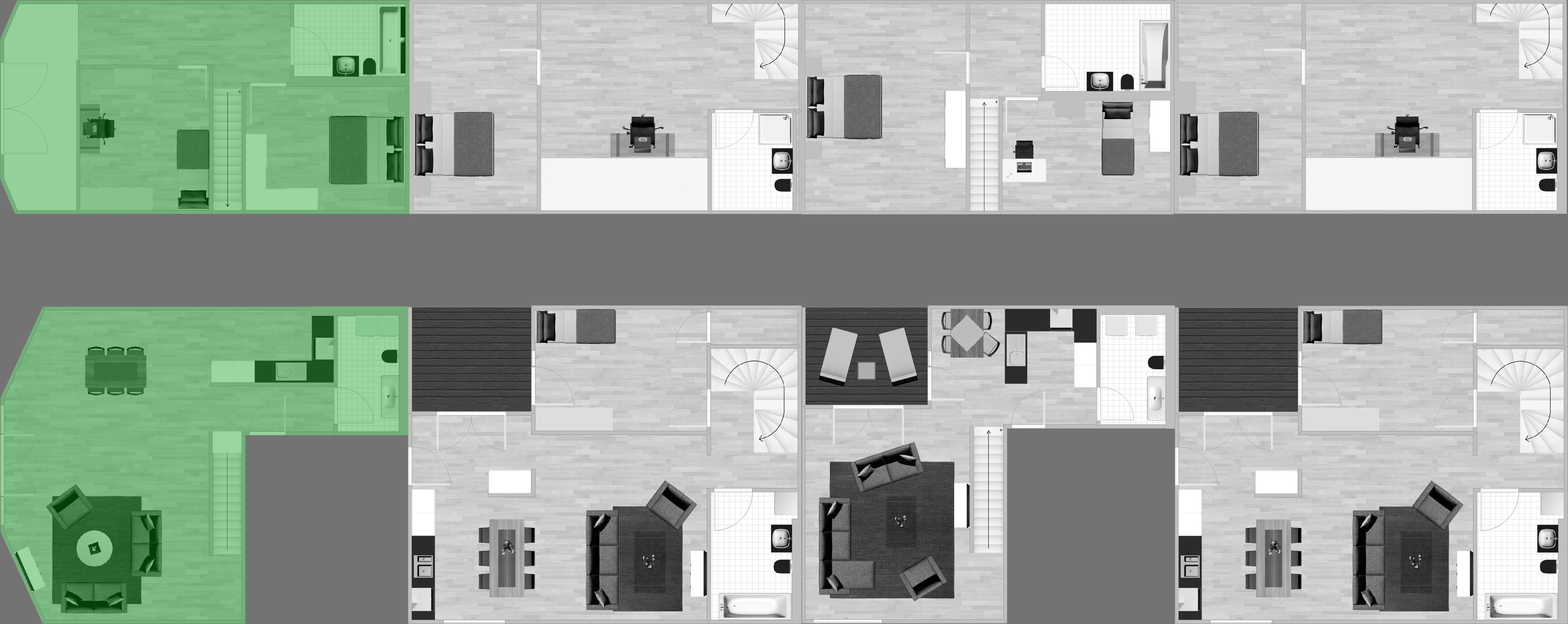 Stockwerk Wohnung 41