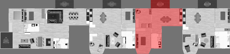 Stockwerk Wohnung 14