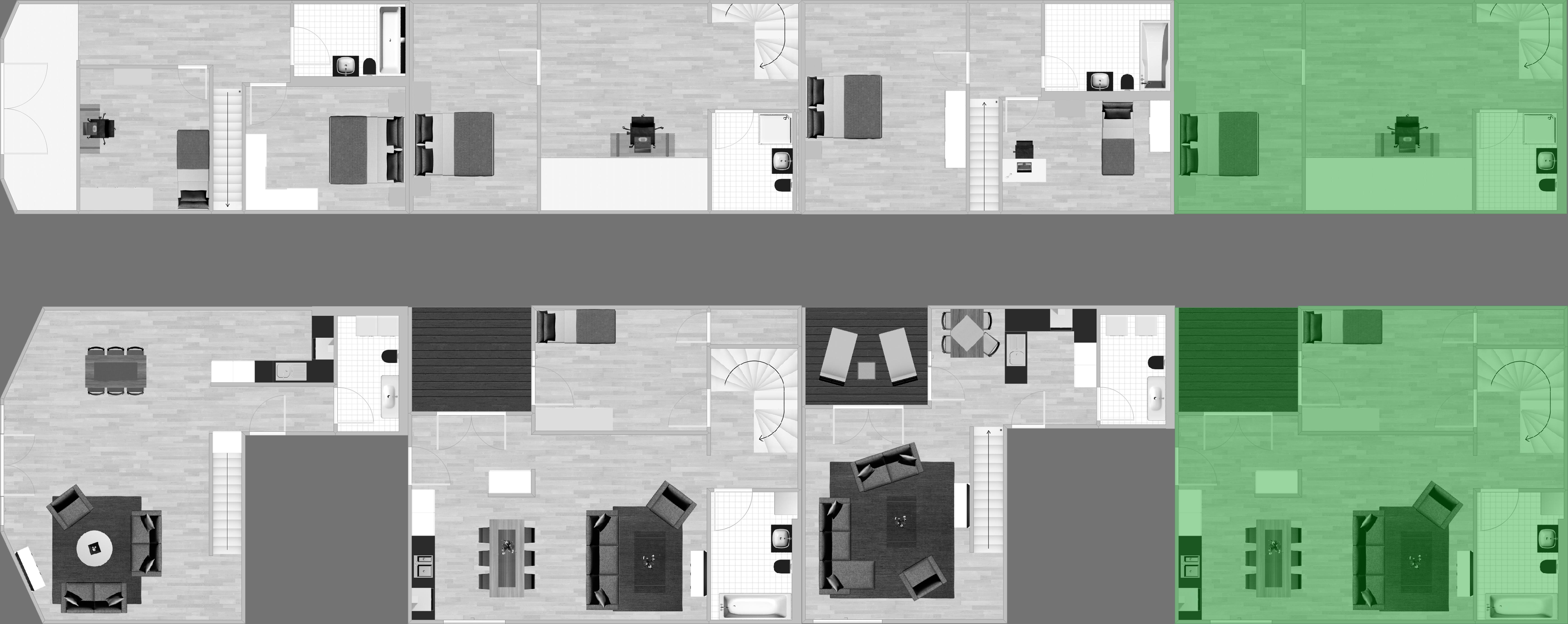 Stockwerk Wohnung 44