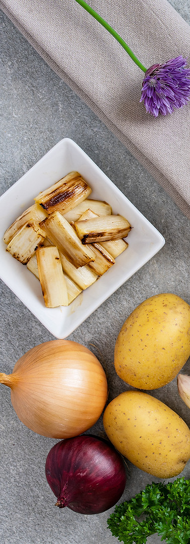 Foodfotografie-Petersilienschaumsuppe