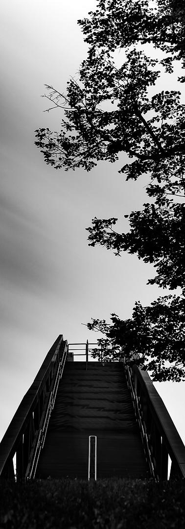 Reisefotografie-Treppe in Steinitz
