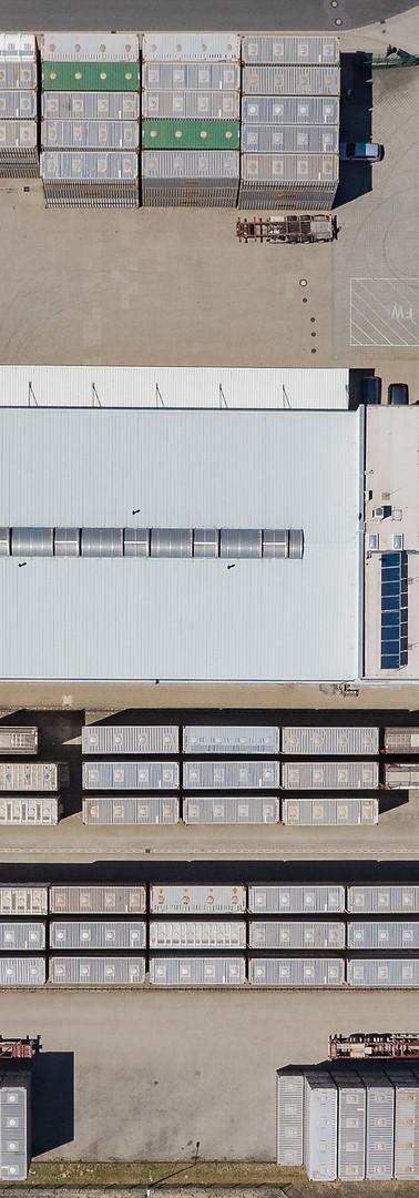 Luftaufnahme-Von oben - STR Schwarzheide GmbH
