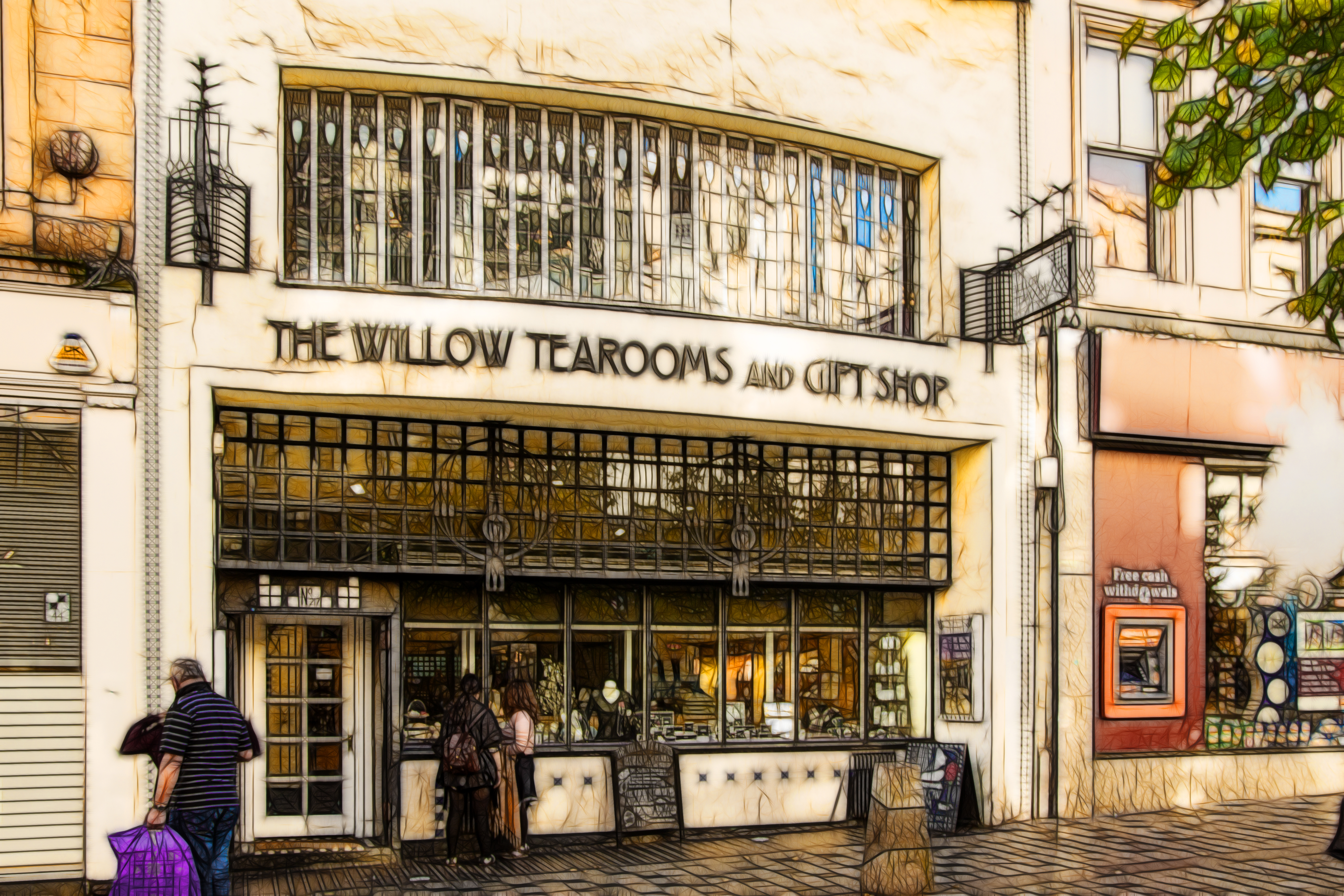 The willow Tearooms