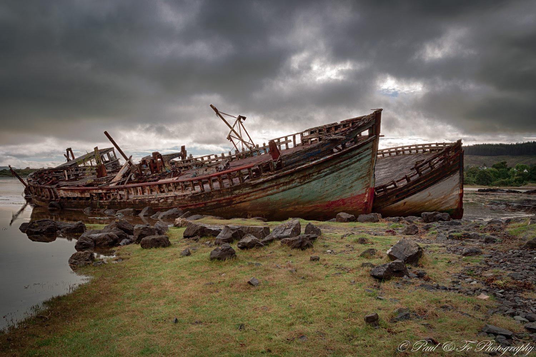 Salen Bay Wrecks S136