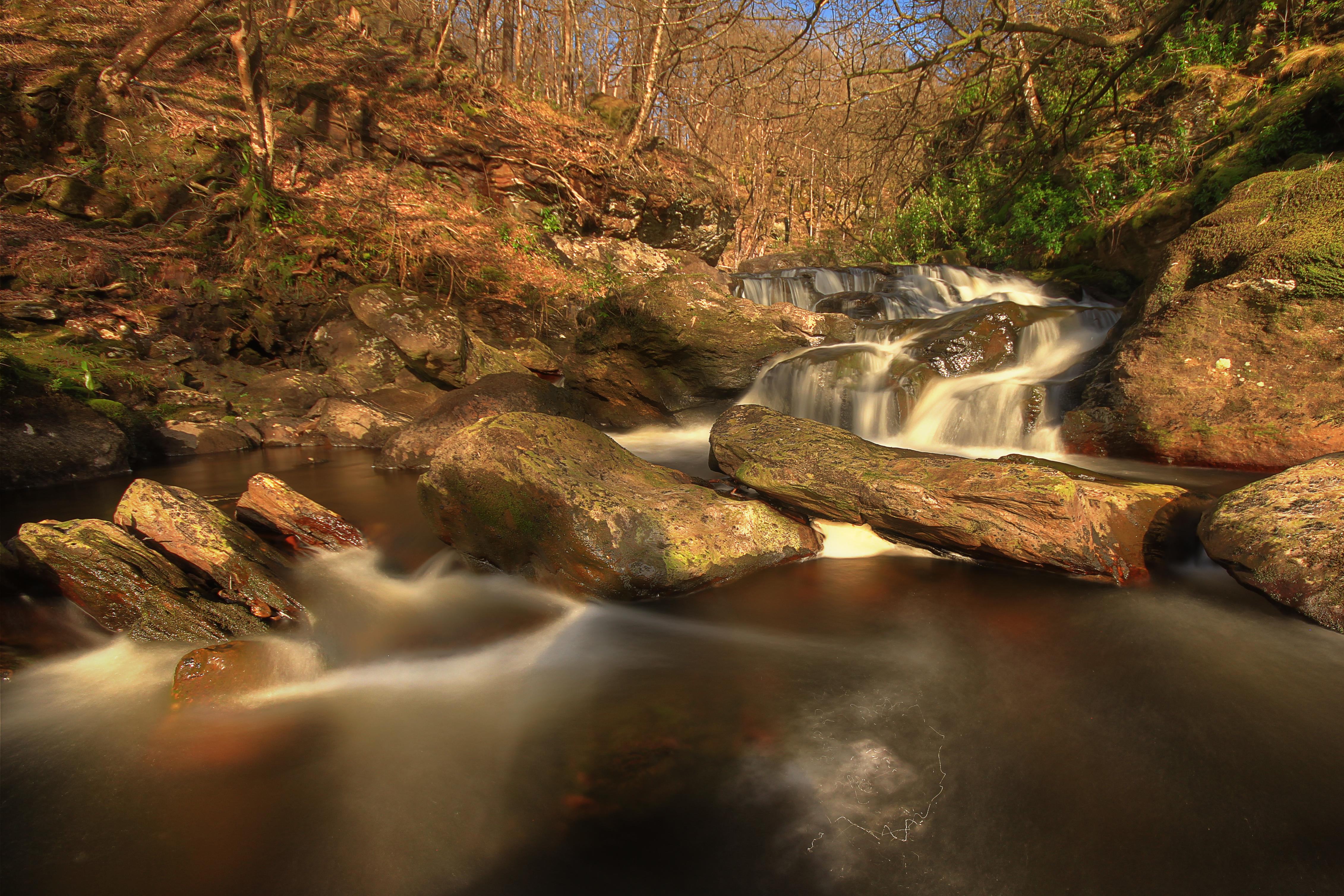Inversnaid Waterfalls L95