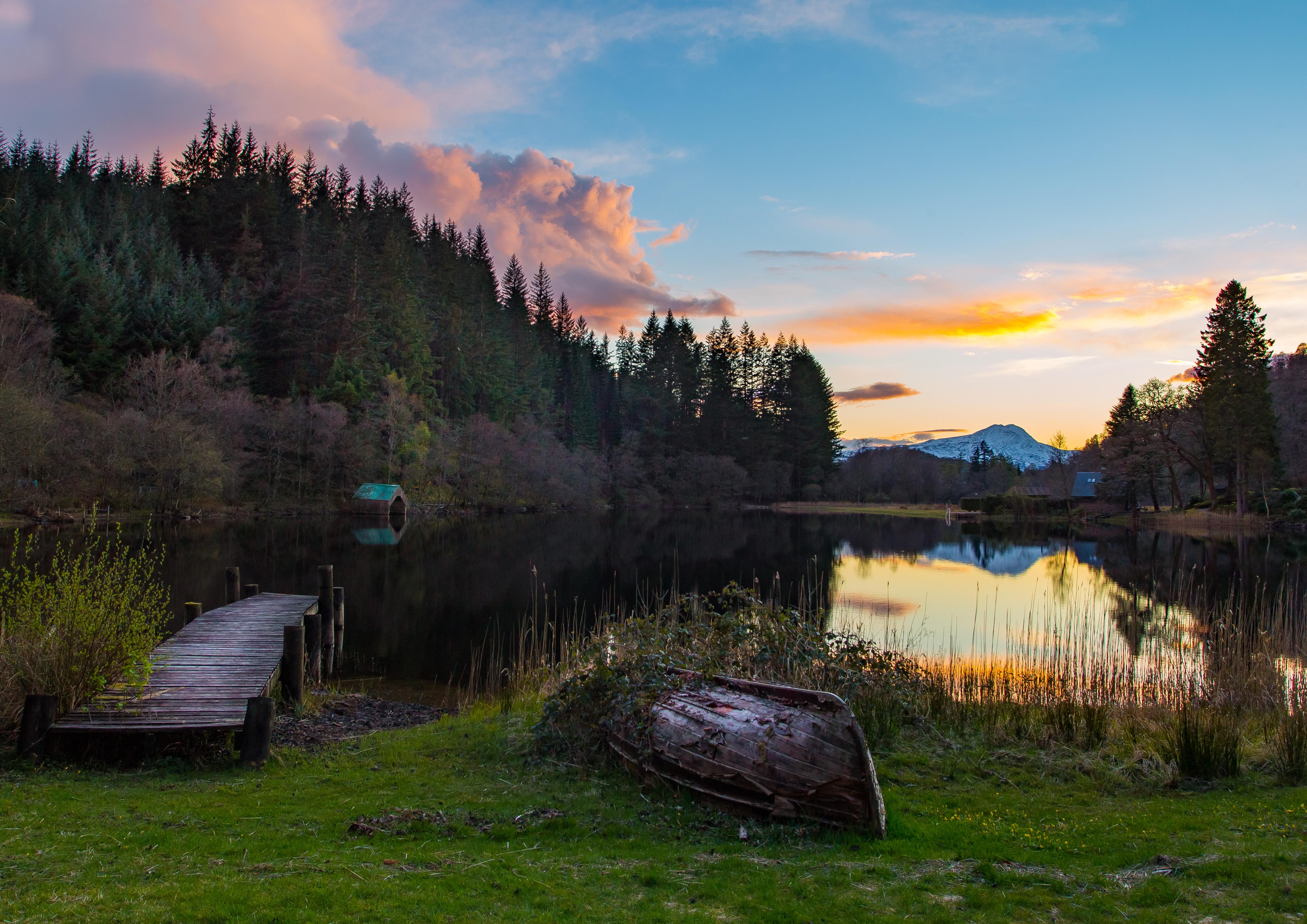 Loch Ard Dusk L84