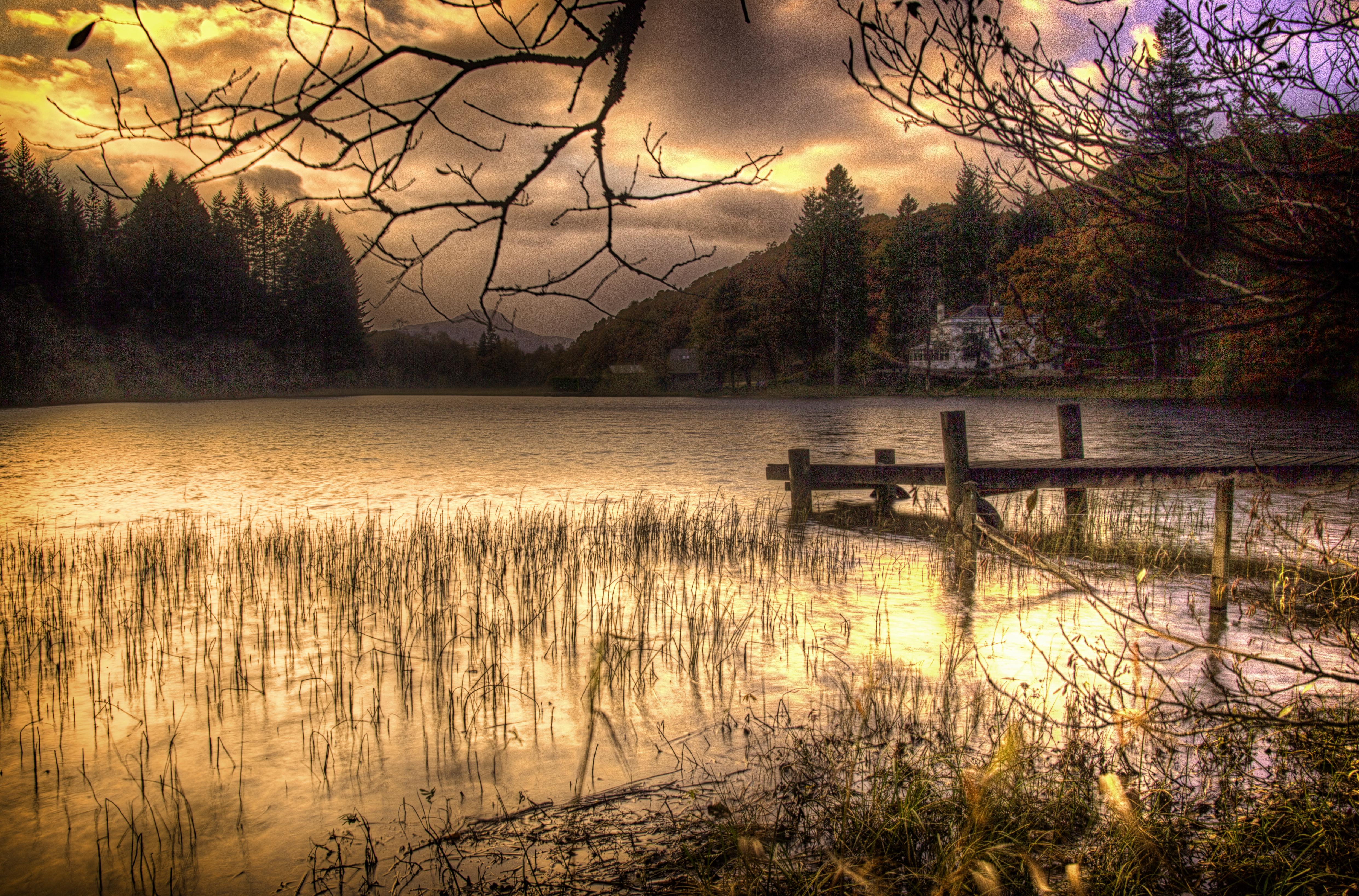 Loch Ard sunset LL1