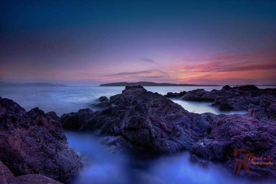Blue Portencross Sunset  S81