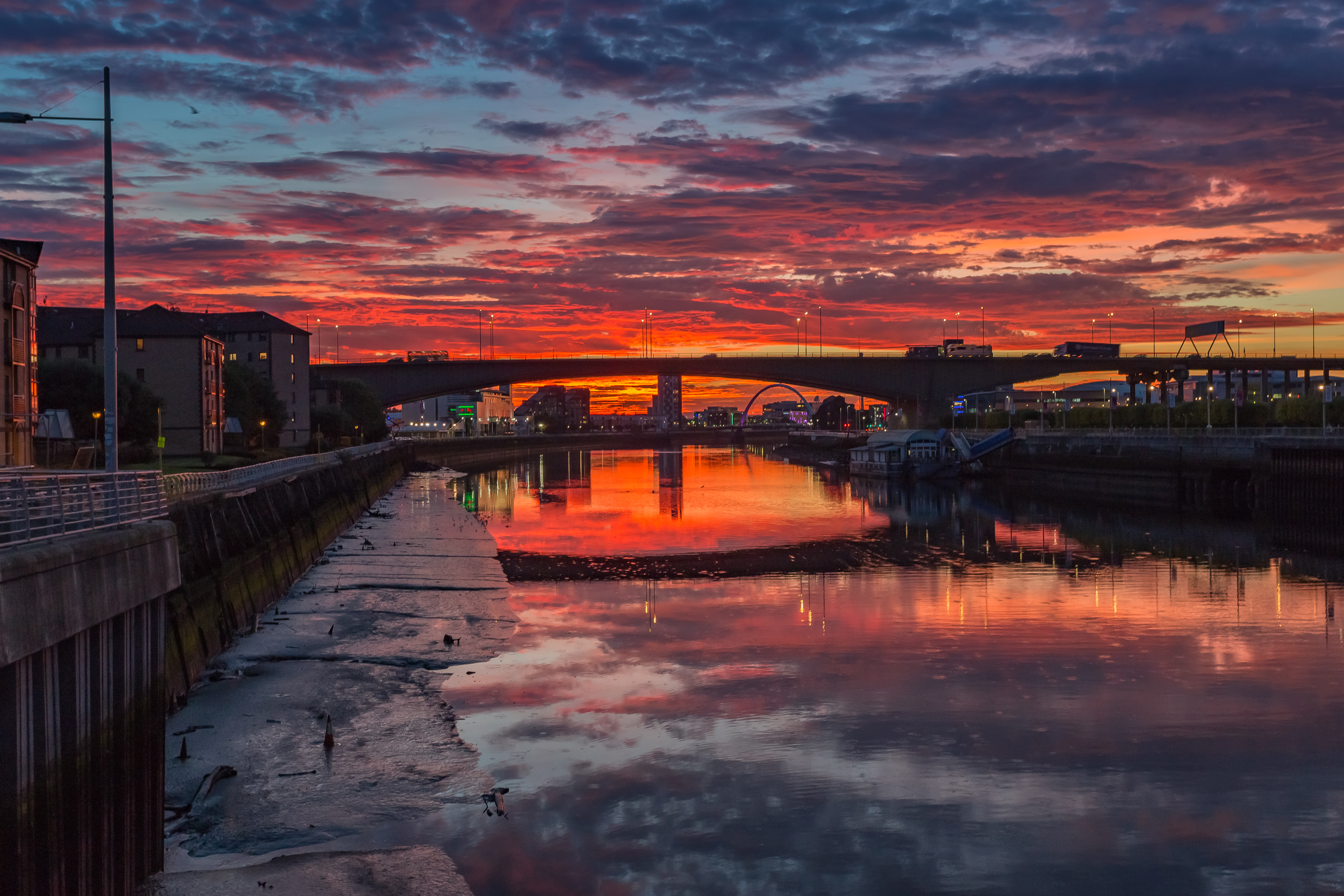 Sunset on the River Clyde  C6