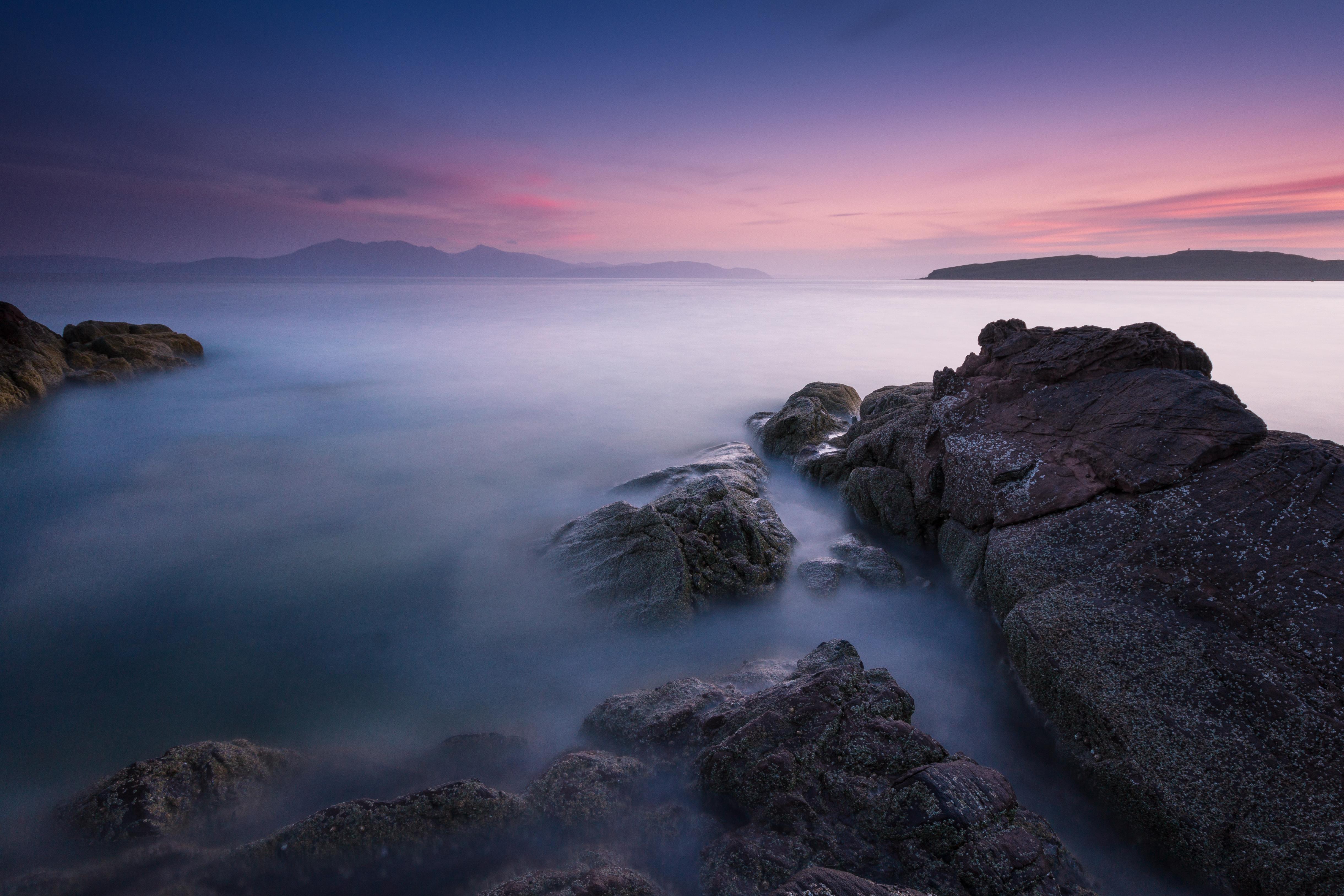Pink Portencross Sunset  S78