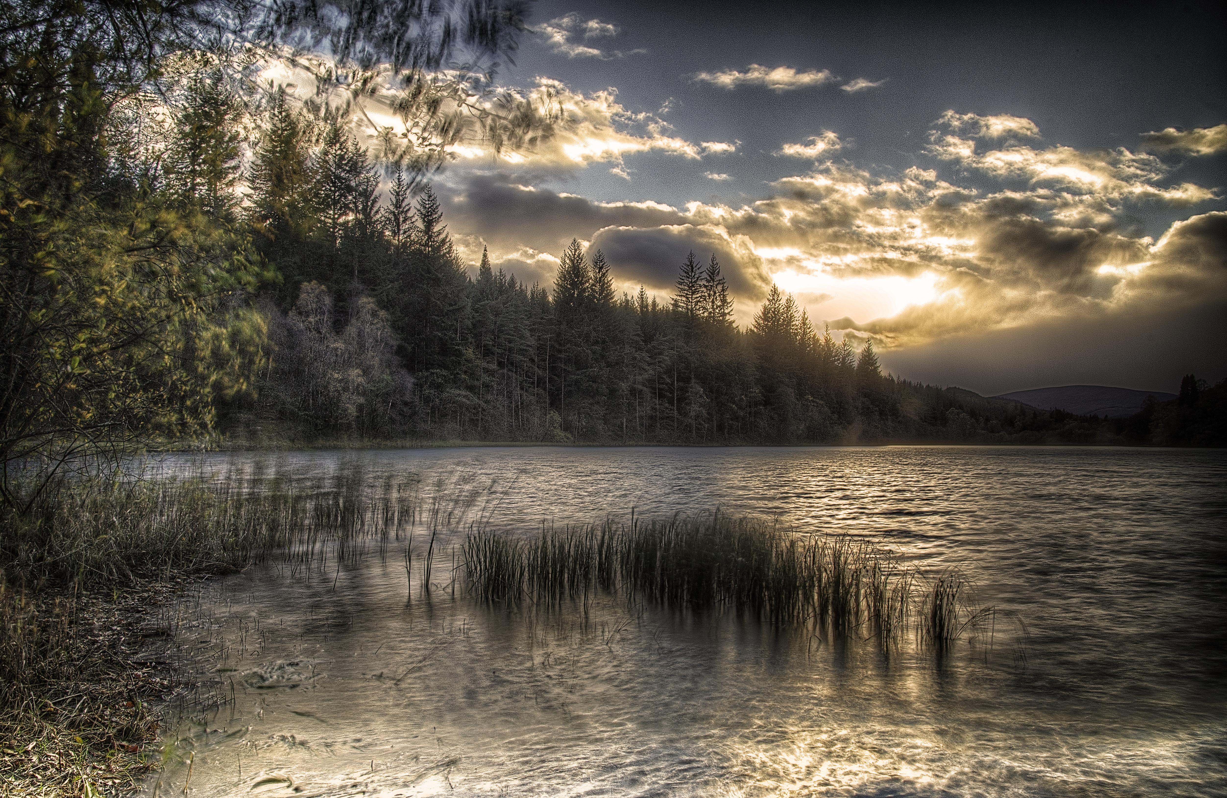 Sunset at Loch Ard  LL4