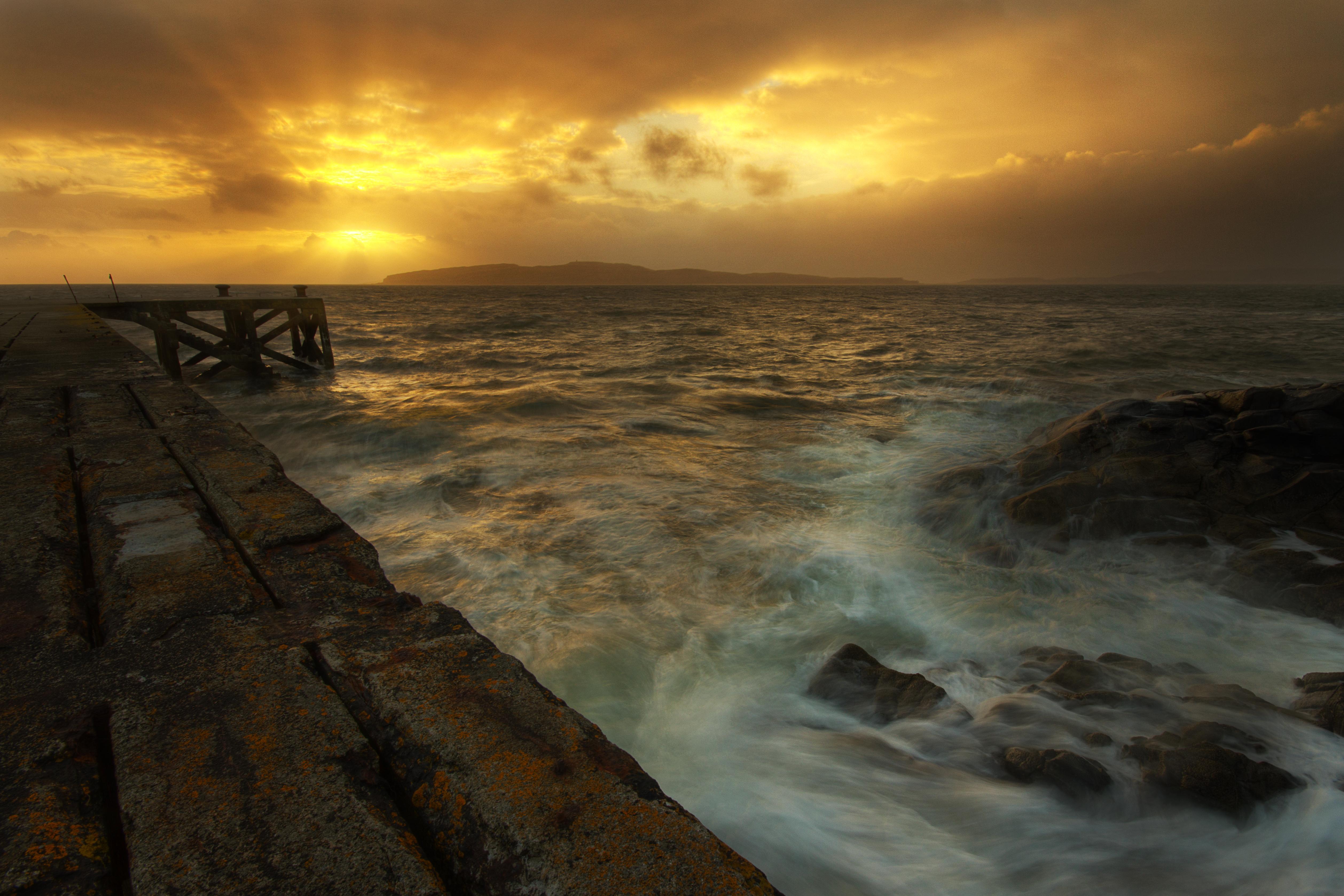 Sunset at Portencross S124