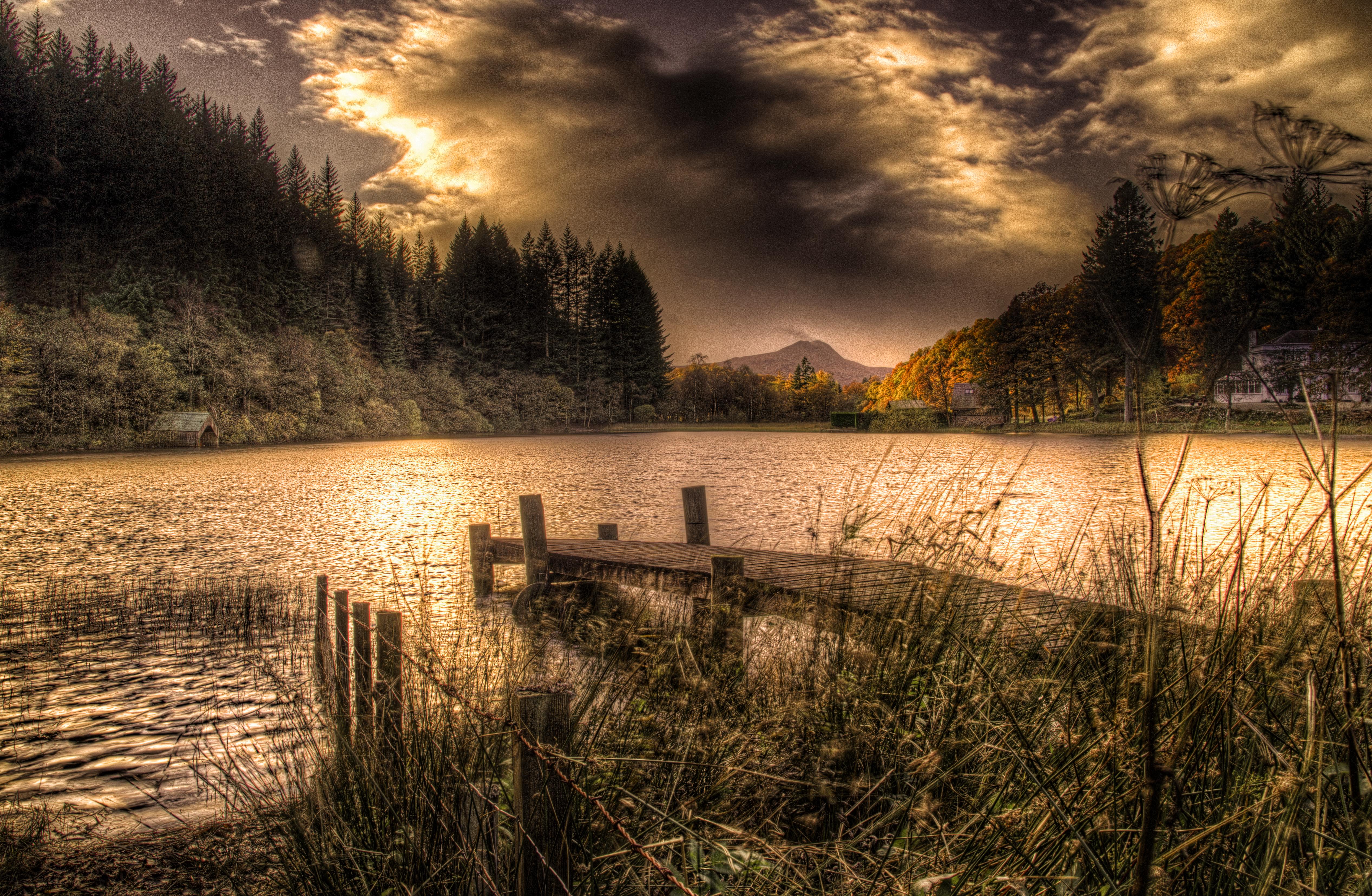 Sundown at Loch Ard LL5