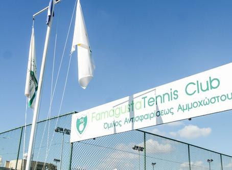 Кипр. Лимассол. Famagusta Tennis Club. Турнир ТЕ u14.