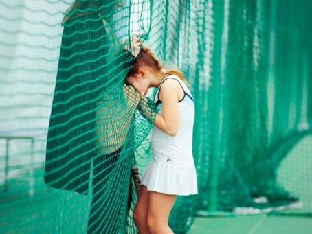 Как научить детей не плакать на корте?