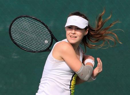 Кипр. Никосия в январе. Открытые корты Cyprus Tennis Federation TE U16 G3