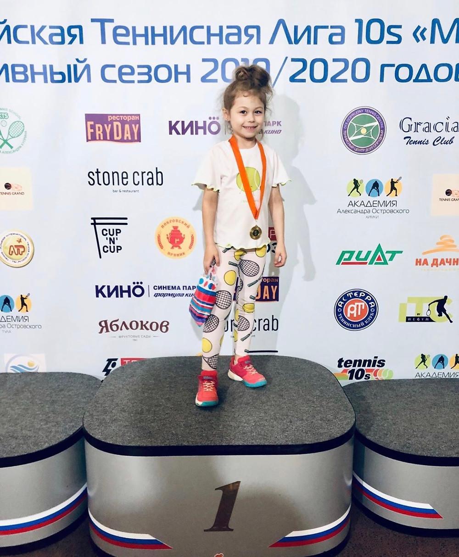 Единая российская теннисная лига 10S «Minitennis»
