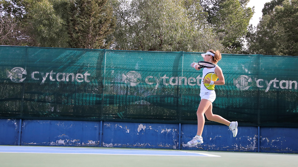 Зайцева Ксения теннис