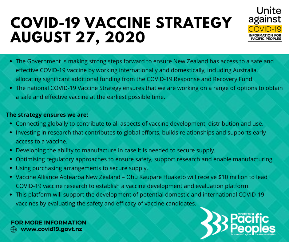 COVID19 - Vaccine Announcement