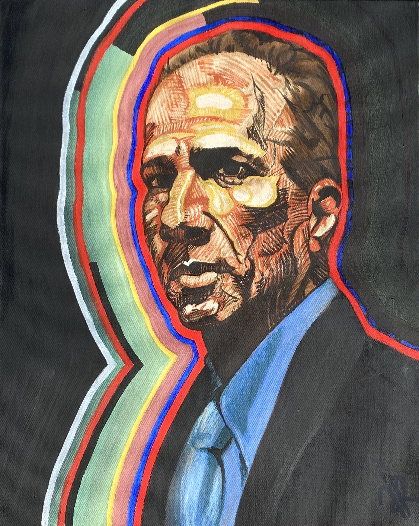 Portrait of Rage