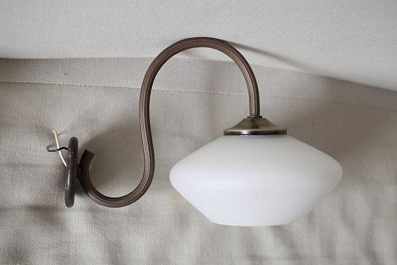 מנורת קיר זכוכית פחוסה