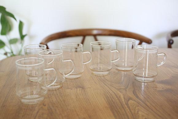 שבע כוסות וינטג' לשתייה חמה
