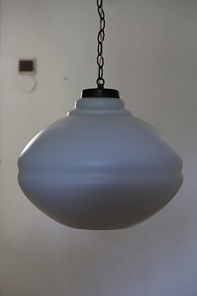 מנורת תלייה וינטג' לבנה