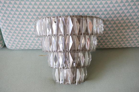 מנורת קיר קריסטלים אר-דקו