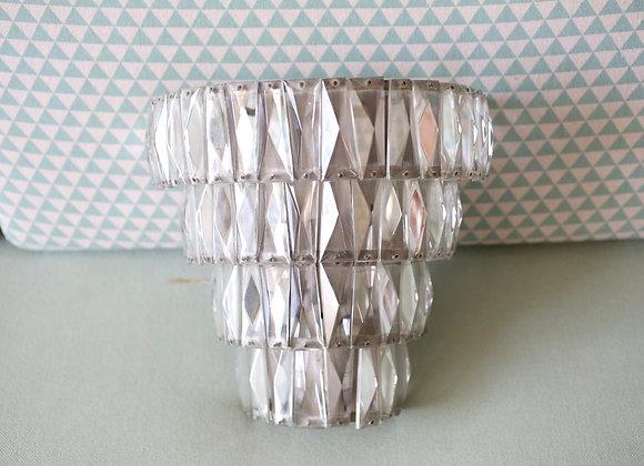 מנורת קיר קריסטל אר-דקו