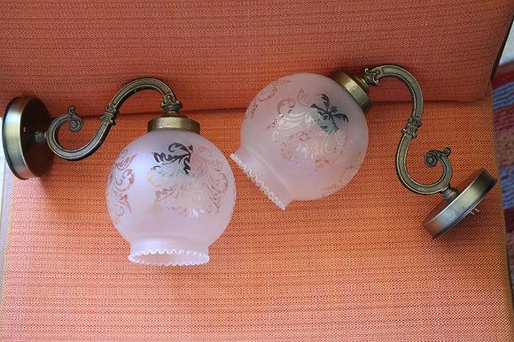 זוג מנורות קיר, המחיר לשתיהן