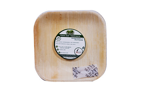 """Square Plate 4"""" (Pack of 25)"""