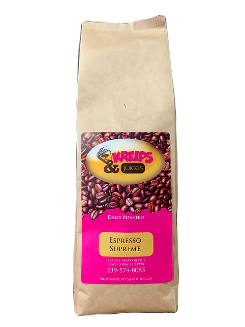 Espresso Supremo- House Blend   12 oz